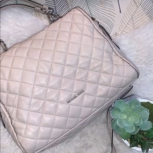 Michael Kors Quilted Satchel Crossbody ShoulderBag